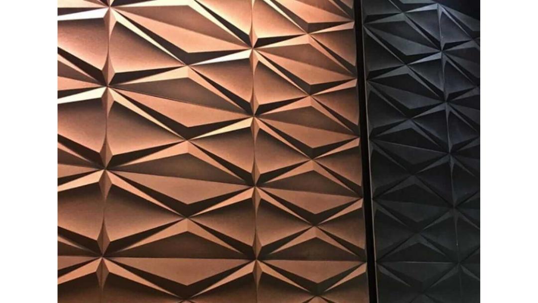 Aplicação com Cubic cobre e Steel Iron.